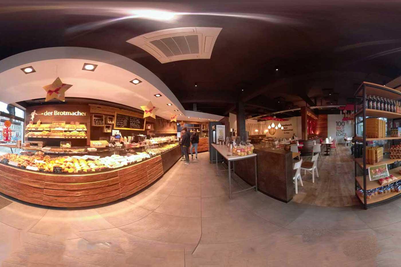 360 Grad Aufnahme Bäckerei der Brotmacher Groß-Umstadt