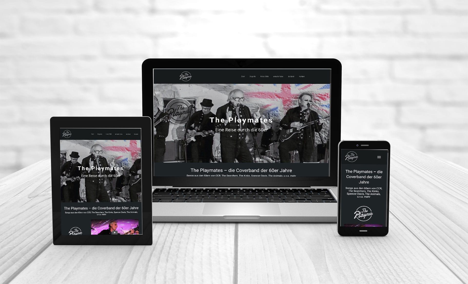 Webdesign Webseite erstellen The Playmates
