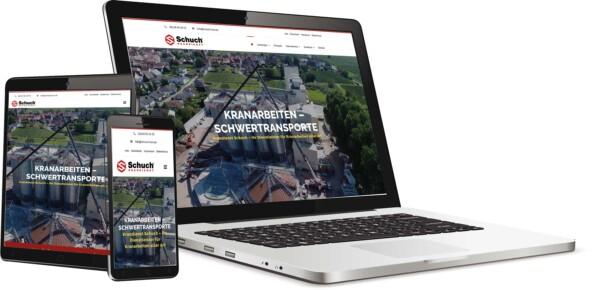 Have a website created Web design agency Schwarzer-Knick